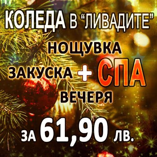 """КОЛЕДА 2019 в комплекс """"Ливадите"""""""