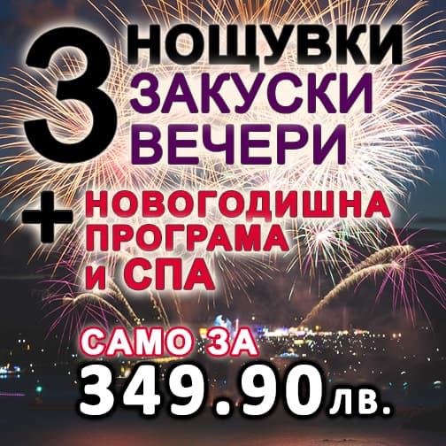 """Нова Година в комплекс """"Ливадите"""""""